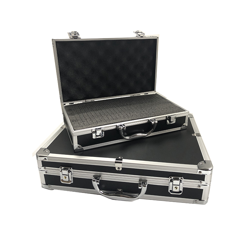 Aluminum Tool Box Portable Safety Equipment Instrument Case Suitcase Multifunction Profile Tool Box Hardware Tool Case With Foam(China)