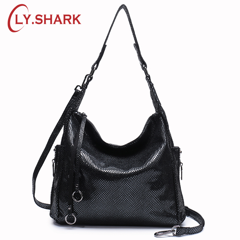 LY.SHARK Genuine Leather Messenger Bag Women Handbag Crossbody Bag For Women Shoulder Bag Female Briefcase Ladies Tote Bag Gold zobokela genuine leather women messenger bag female luxury handbag women bag designer ladies women shoulder bag crossbody tote