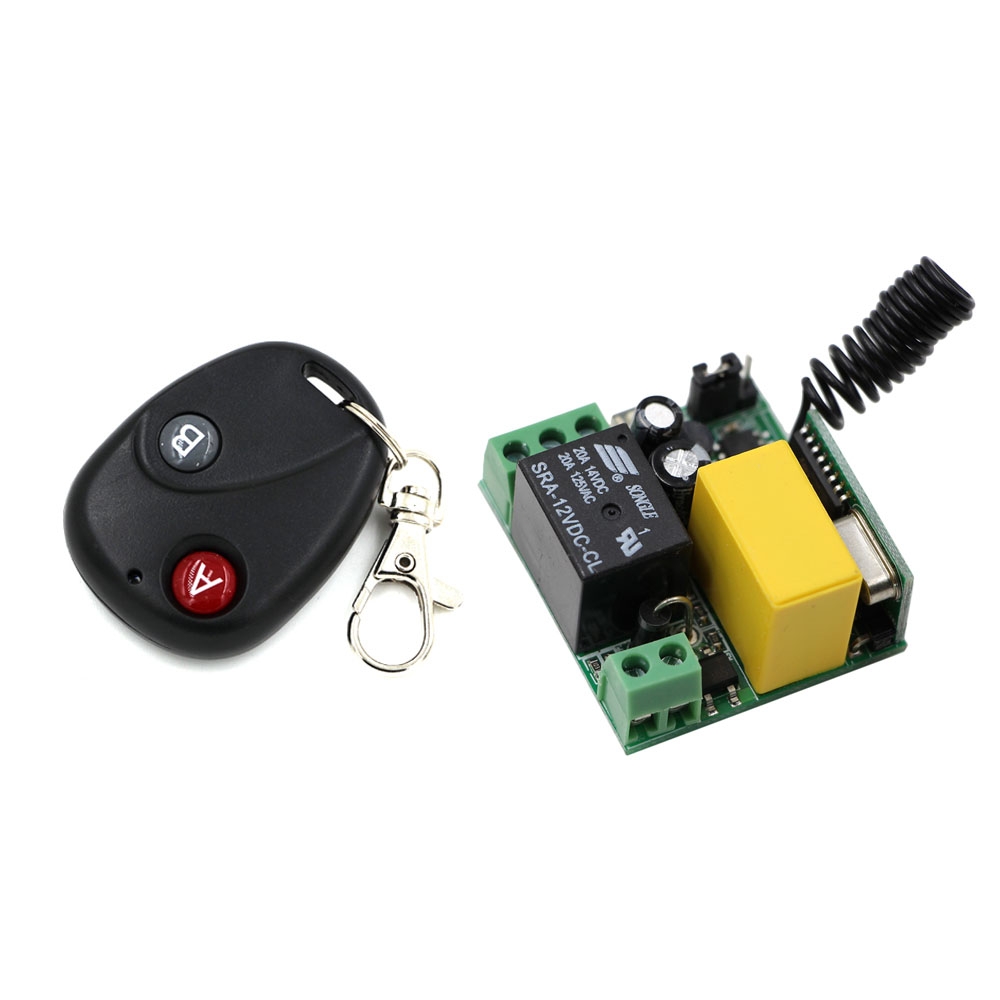 New AC220V 1 CH Wireless Remote Control Lighting Switch 10A Relay Mini Receiver and 2Keys Remote Controller for Lights & Windows водонагреватель накопительный electrolux ewh 80 formax 80л белый