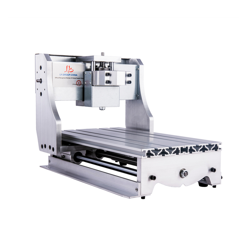 cnc router frame 3020 with 52mm spindle clamp for diy mini milling machine