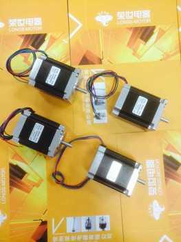 DE Ship EU free shipping no tax 4pcs Nema 23 stepper motor 272oz.in 3.0A 4WIRES 23HS8430  CNC Router Cut Laser Engraving