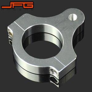 Image 3 - Direksiyon damperi sabitleyici kelepçe montaj adaptörü braketi 30 31 32 33 35 36 37 38 39 40 41 43 45 46 47 48 49 50 52 53 54 60 MM