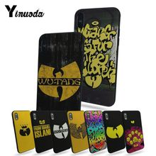 Yinuoda Wu-Tang Wu Tang Clan Hot selling fashion design cell Case For iphone 7 7plus X 8 8plus And 5 5s 6s Plus phone cover