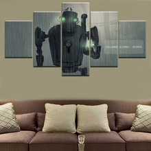 High Quality Canvas Printed 5 Pieces NieR Automata Pascal Game Poster Painting Modern Wall Art Decorative Modular Framework