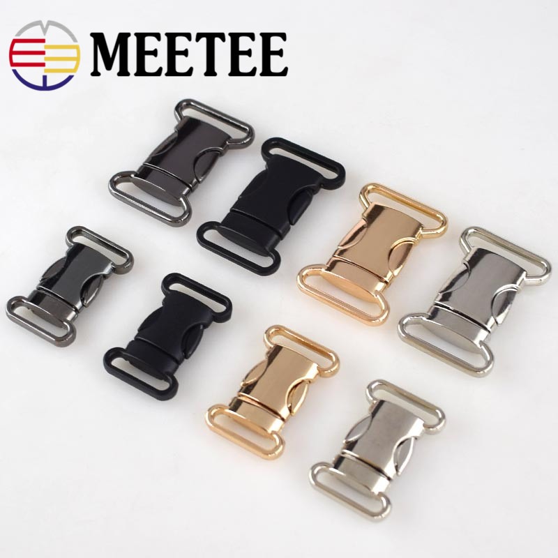 2pcs/4pcs Metal Belt Buckles 20mm 25mm Clip Snap Clasp Buckles for Bags Belt Clothing DIY Sewing Decoration Hardware Accessories