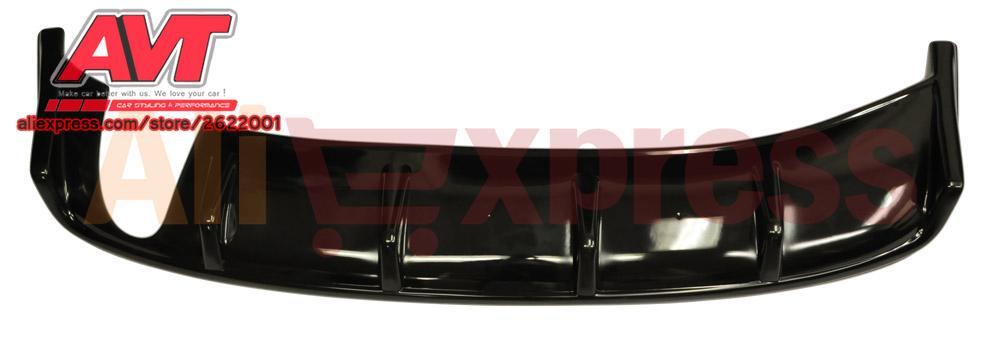 Diffuseur pour Mitsubishi Lancer X 2007-pad sur pare-chocs arrière en plastique ABS accessoires de protection de style de voiture décoration tuning