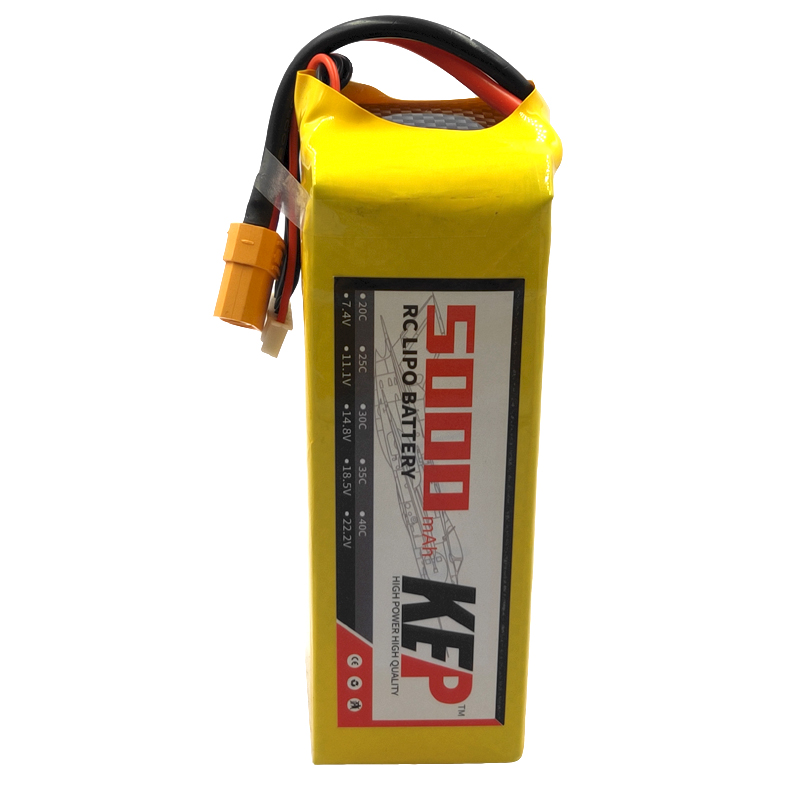 <font><b>6S</b></font> <font><b>5000mAh</b></font> 22.2v 30C 40C RC <font><b>LiPo</b></font> Battery MAX 60C 80C Rechargeable <font><b>lipo</b></font> battery For Remote Control Model XT60 image