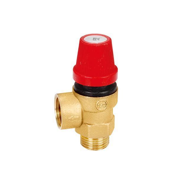 """1/2"""" DN15 6 bar brass pressure relief boiler gas safety valve"""