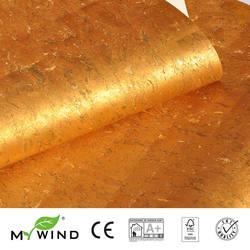 2019 MIJN WIND Gold HOT Luxe Decoratie Wallpapers Luxe 100% Natuurlijke Materiaal Veiligheid Onschadelijkheid 3D Behang In Roll home Decor