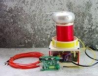 Мини крошечный гнтц катушки Тесла собраны поддержка MIDI музыка дугогасительной Lightning искры генератора