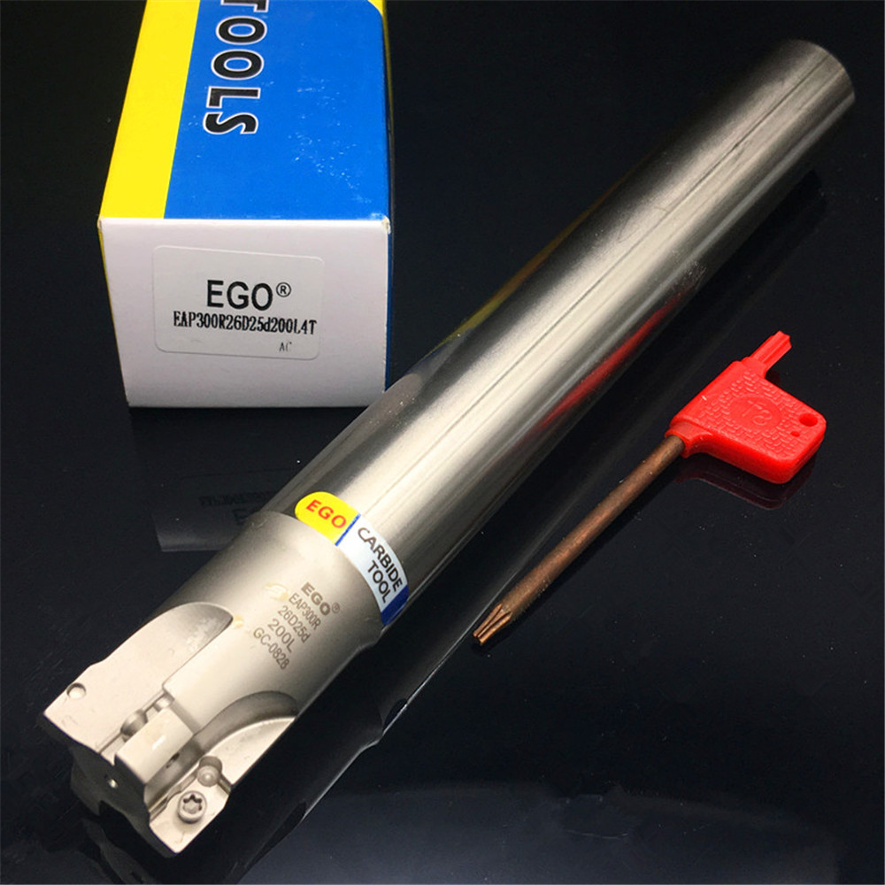 Milling cutter holder EAP300R26D25d200L4T flat end mills ...