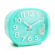 Creative Clock Alarm Quartz Children Night Light Bedside Clock Glow Vintage Mechanical Alarm Despertador Table Watch 50A0114(China)