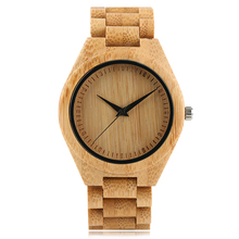 Watches Men Sport 2017 Student Japan Quartz Male Clock Wooden Hour Casual Bamboo Man's Wristwatch relogios masculino de luxo