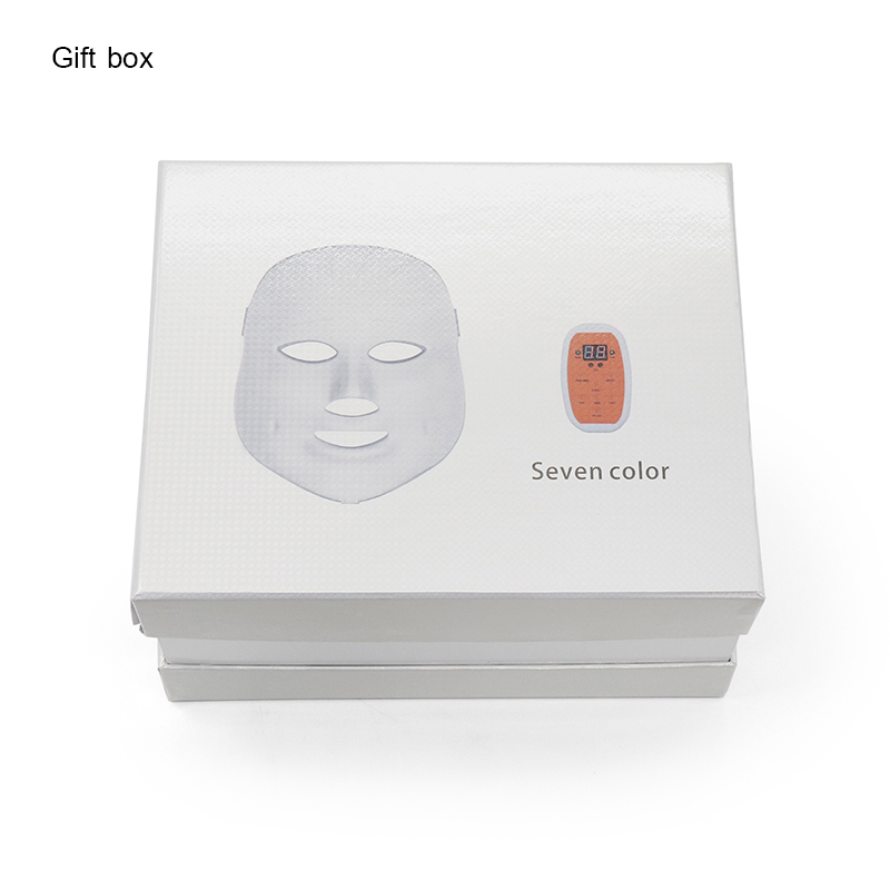 Купить с кэшбэком LED Photon Light therapy Mask Wrinkle Acne Removal Face Skin Rejuvenation Therapy Spa Skin Beauty photonic Mask Facial