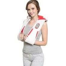 Intelligent massage cape , cervical massager neck shoulder pound back instrument 15 minutes timing