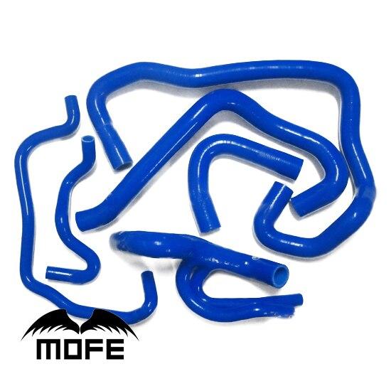 Mofe 6 PCS Silicone Tuyau de Radiateur Kit Pour Cit roen Saxo VTS 1.6 Bleu Noir Vert Jaune RougeMofe 6 PCS Silicone Tuyau de Radiateur Kit Pour Cit roen Saxo VTS 1.6 Bleu Noir Vert Jaune Rouge