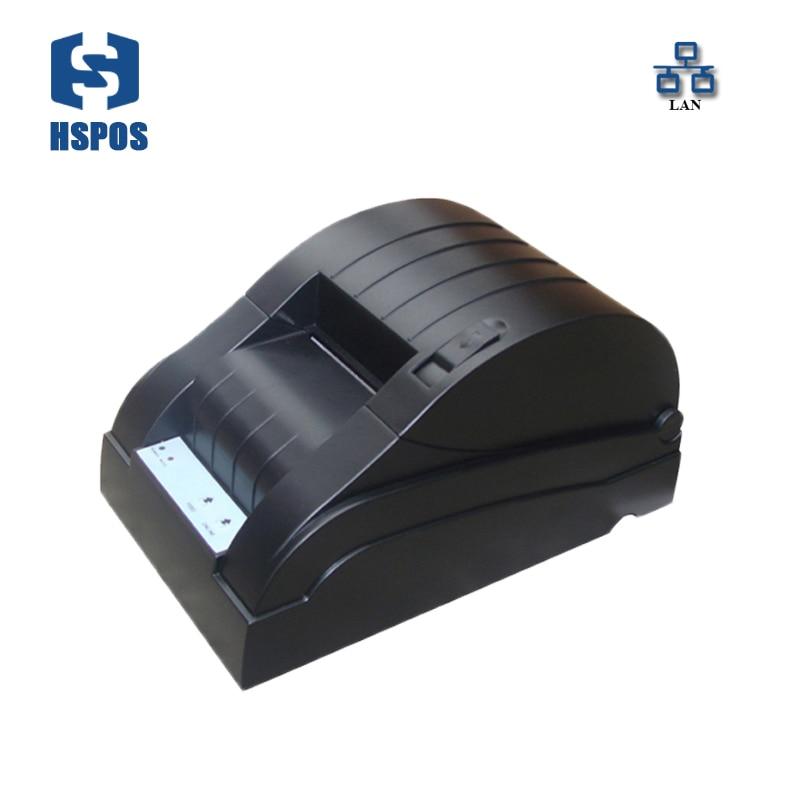 58mm POS Thermal Receipt Printer Supermarket Bill Printing Machine Lan Interface Impressora Support Windows linux driver 58mm thermal receipt printer 58mm usb thermal printer usb pos system supermarket nt 5890k