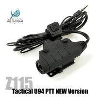 Z Tactical U94 PTT Softair Military Sordin Comtac Headset PTT Ztac Airsoft Headphone Accessories Kenwood Z115