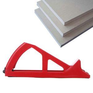 Image 2 - Gypsum Board File Planing Wallboard Rasp Trimmer Plasterboard Planer Abrasive Edge finishing Tool