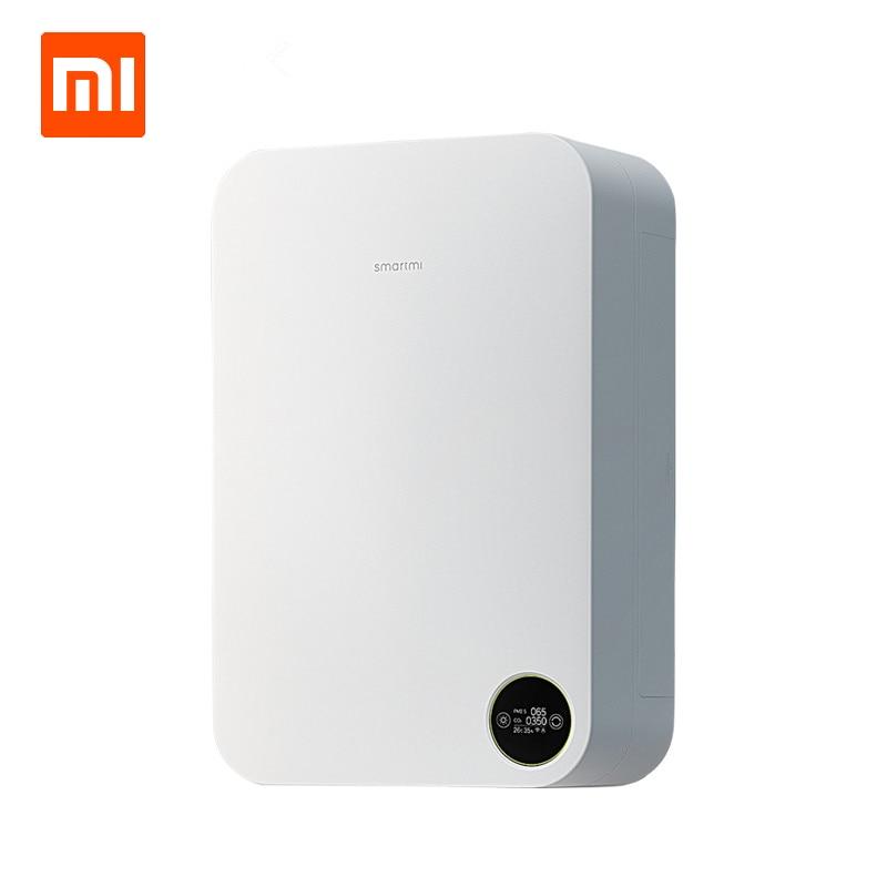 Xiaomi Smartmi Intelligent Purificateur D'air Accueil Système D'air Frais Air Mil Purificateur Anti Brouillard Brume Formaldéhyde Bar À Oxygène PM2.5