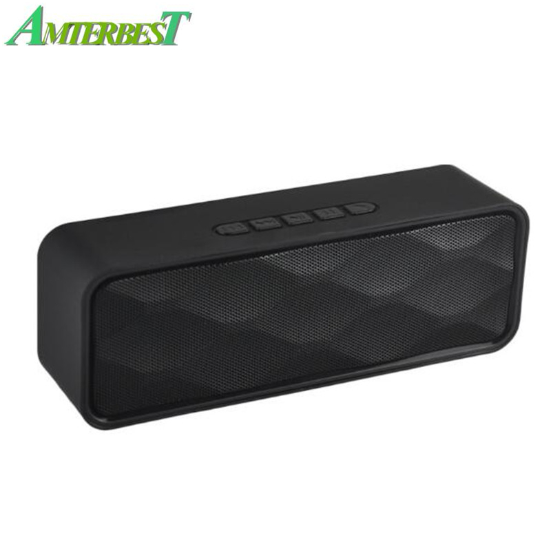Wireless Portable Bluetooth Speaker Outdoors Hands Free With FM TF Card USB Stereo Music Sound Box For Smartphones