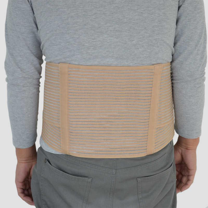 a36773c3920 Medical Abdominal Binder Lower Back Brace Waist Belt Spine Support Belts  Breathable Lumbar Corset Orthopedic Compression