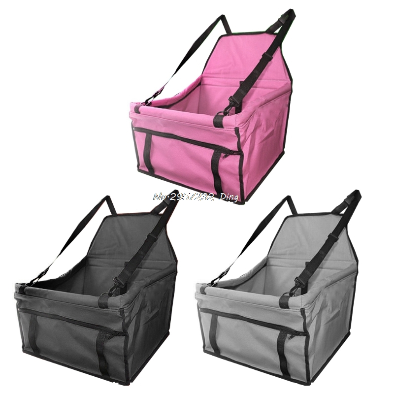 Dog Car Seat Basket Folding Bed Hammock Waterproof Pet Mat Cover Dog Carrier Bag CHE9