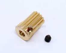 ALZRC 450 Pro 3.5mm Copper Motor Pinion Gear 13T HP45043-13  for 450 rc helicopters Free Track Shipping