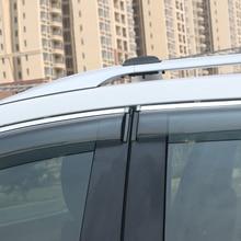 For Mazda CX-5 CX5 2012-2016 Plastic Car Styling Exterior Accessories Car Window Visor Vent Shade Rain/Sun/Wind Guard Trim 4pcs