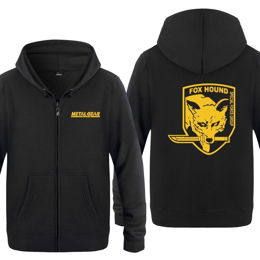 7th Special Forces Group Mens Full-Zip Up Hoodie Jacket Pullover Sweatshirt