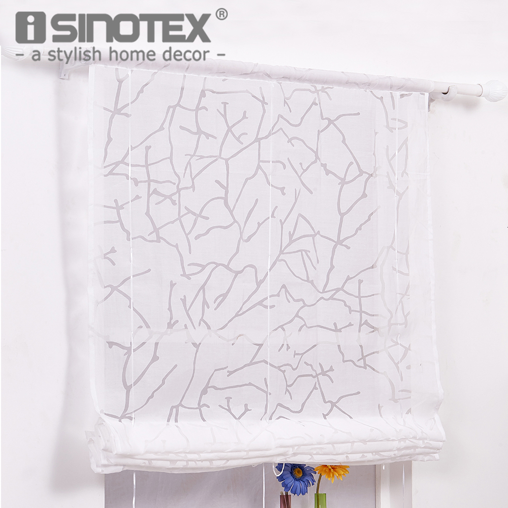 Window Treatment Voile Curtain Ladder Rope Ribbon Modern Style Decoration Living Room Home Textile White Color 4 Sizes 1 PCS