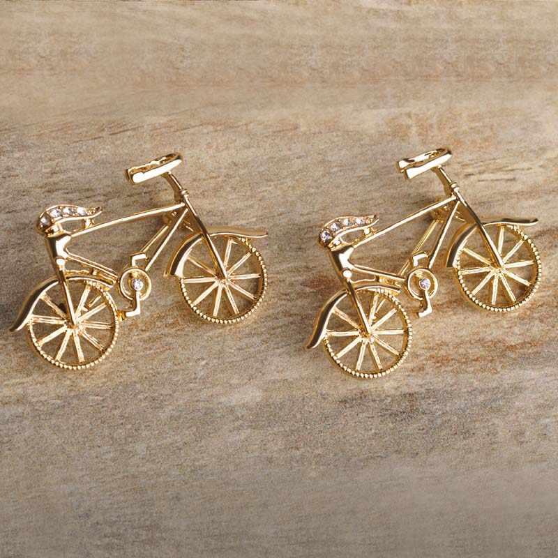 Blucome Cool จักรยานเข็มกลัดสำหรับหญิงทอง-สีจักรยานขนาดเล็กชุดเข็มกลัดเข็มกลัด Pins BUCKLE Man ชุดเสื้อผ้าอุปกรณ์เสริม