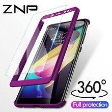 ZNP 360 Derece Darbeye Dayanıklı xiaomi için telefon kılıfı Redmi Not 4 4X Kılıf Ile Cam Kapak Redmi Için Not 4 Redmi Not 4X kıl...