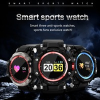 IP67 Waterproof Wristwatch Heart Rate Blood Pressure Oxygen Measure Fitness Tracker Pedometer Smart Sports Watch for IOS Android