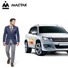 MACTAK Keyless Entry Central Locking Push Button Ignition Door Lock Universal Car Alarm SmartPhonePKE  Control System