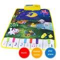 Tapetes de Esteiras de Piano Da Música do bebê Newborn Kid Crianças Jogo de Toque jogo Tapete Cobertor Tapete Musical Mat Animal Lua Brinquedos presente animais