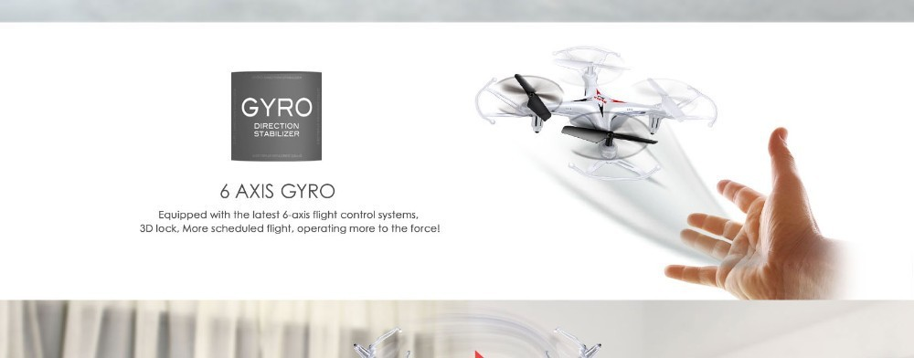 6 2015 New Arrival Syma X13 RC Mini Drone Helicopter  2.4G 4CH 6-Axis Quadcopter With 3D Flips Remote Control Toy