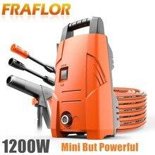 Lavadora portátil para coche, 220V, 1200W, limpiador de agua, cebado, conectar grifo de agua, limpieza eléctrica de carpa de alta presión