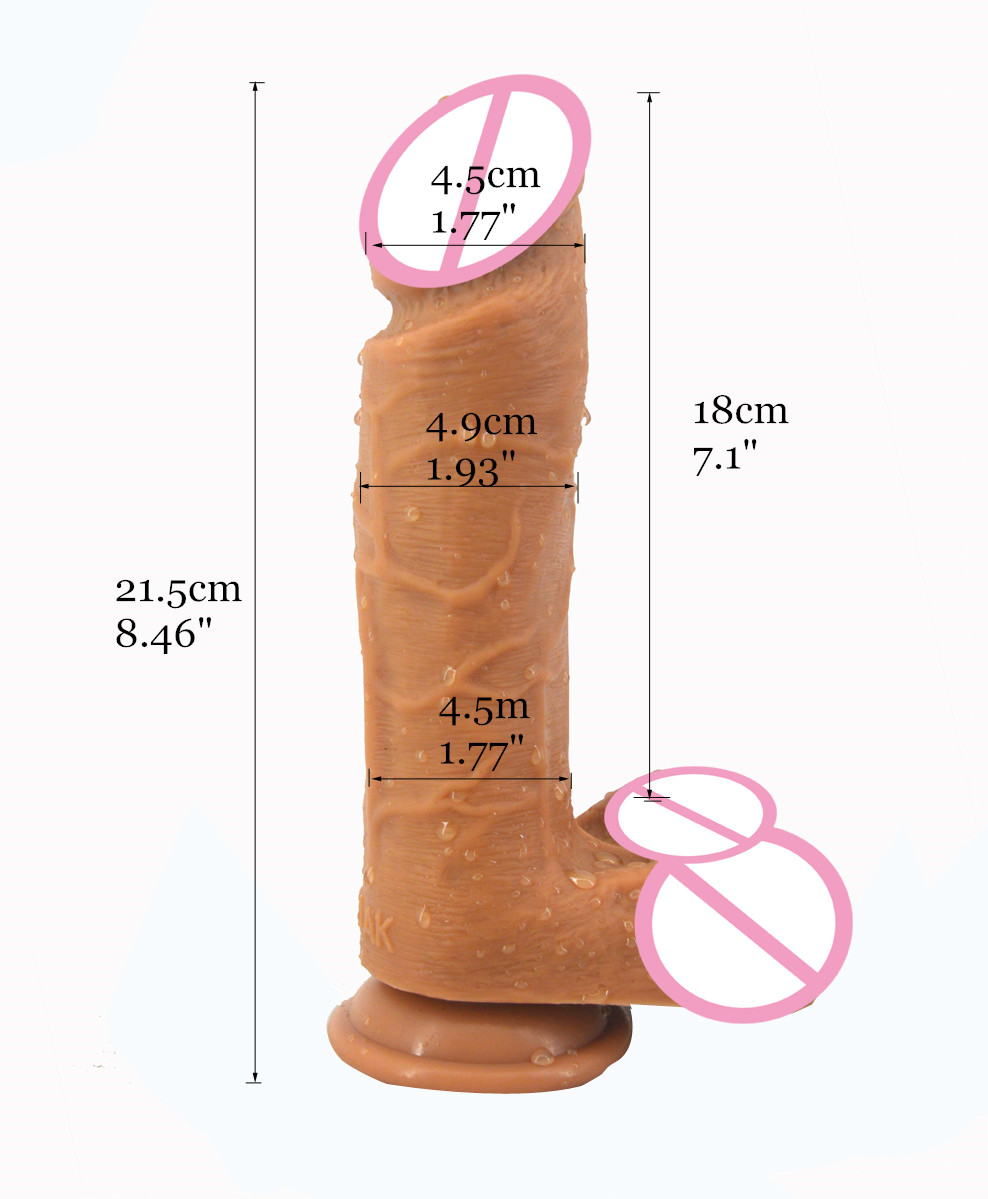 Huge dicks and dildos