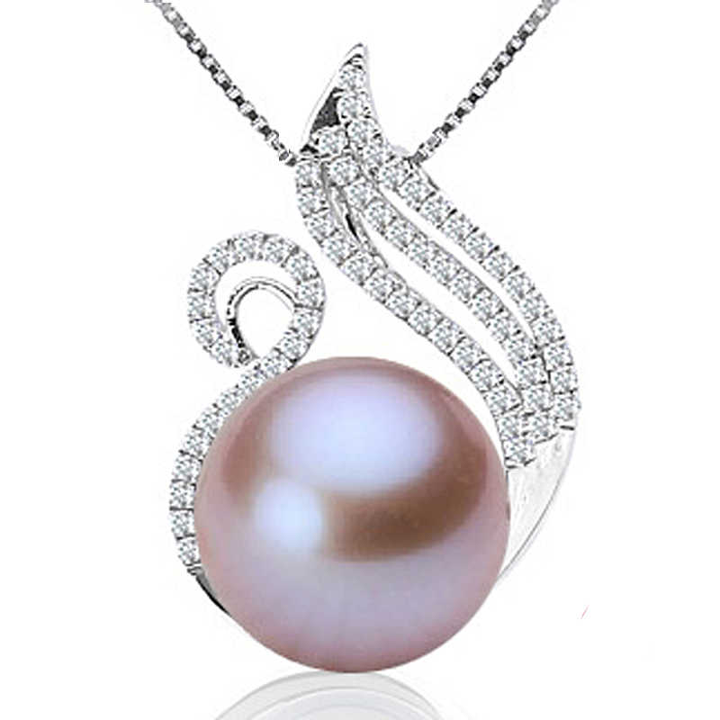 Detail Feedback Questions about [MeiBaPJ] 10 11mm Big Pearl Swan Pendant  Necklace Elegant Pendant Necklace for Women Fine Charm Jewelry on  Aliexpress.com ...