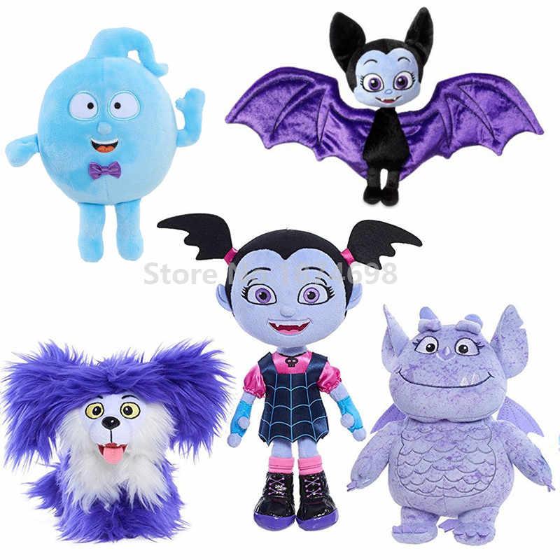 New Vampirina Case of the Battys Bat Demi Wolfie Dog Poppy Gregoria Mini Plush Stuffed Doll Animals Kids Toys Girls Gifts