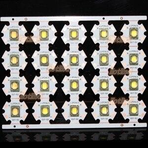 Image 5 - Luminus SST 50 LED Emitter 15W Kalt Weiß 6500K Warmweiß Chip birne diode 20mm kupfer basis + 1 modus SST50 fahrer platine