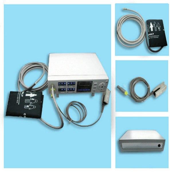 Монитор для пациентов, монитор для наблюдения за естественными сигналами, монитор NIBP + SPO2 + PulseRate CMS5000B CONTEC, гарантия