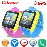 Volemer Children 3G Smart Watch Kids Wristwatch Q730 3G GPRS GPS Locator Tracker Smartwatch Baby Watch With nano card Camera