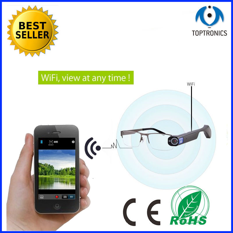 Special Birthday Gift For Driver Police Journalis Friends Smart Glasses Suppot App 1080P Video Best New Year In Activity Trackers