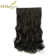 AISI BEAUTY 24″ 16 Colors Long Wavy High Temperature Fiber Synthetic Clip in Hair Extensions for Women