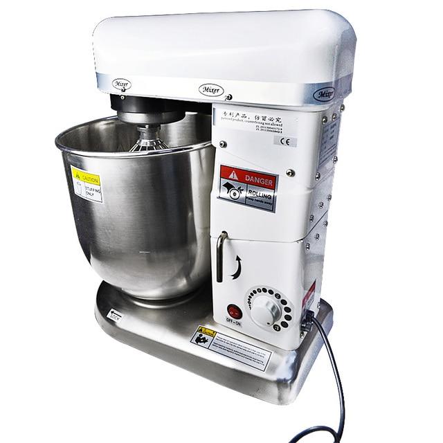 220V 10L Professional Electric Stand Dough Mixer Household Commercial Dough Kneading Mixer Egg Beater Bread Mixer Food Mixer