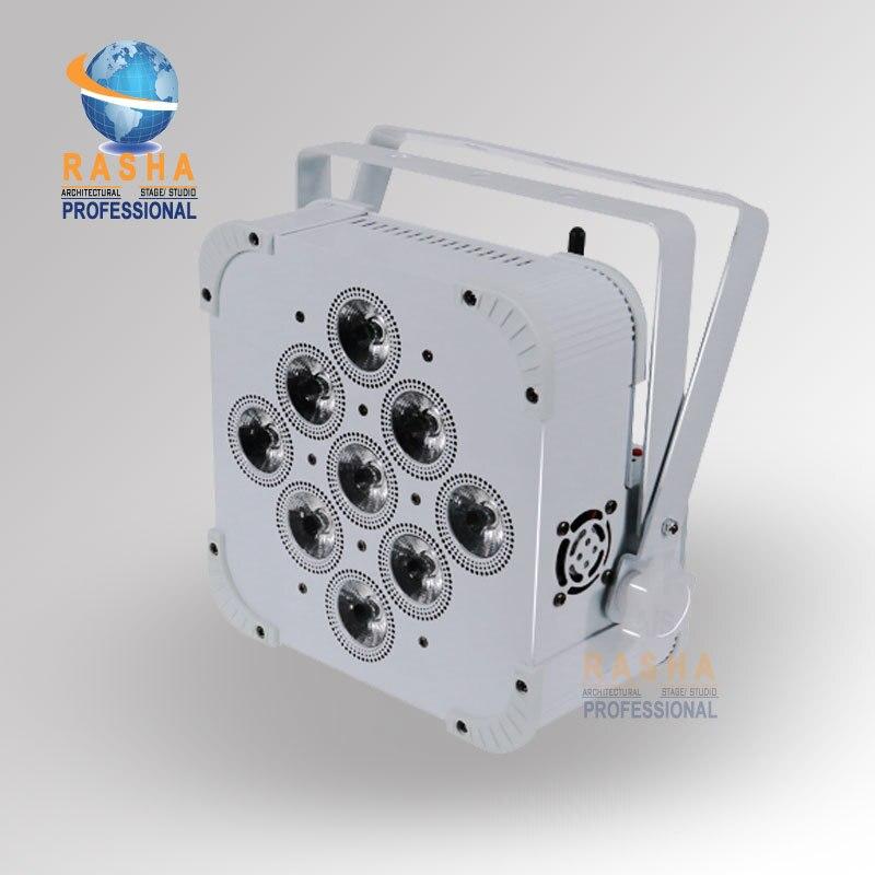 Hex V9  Battery Operated Wireless Led par light | RGBAWUV Battery Operated wireless led par profile