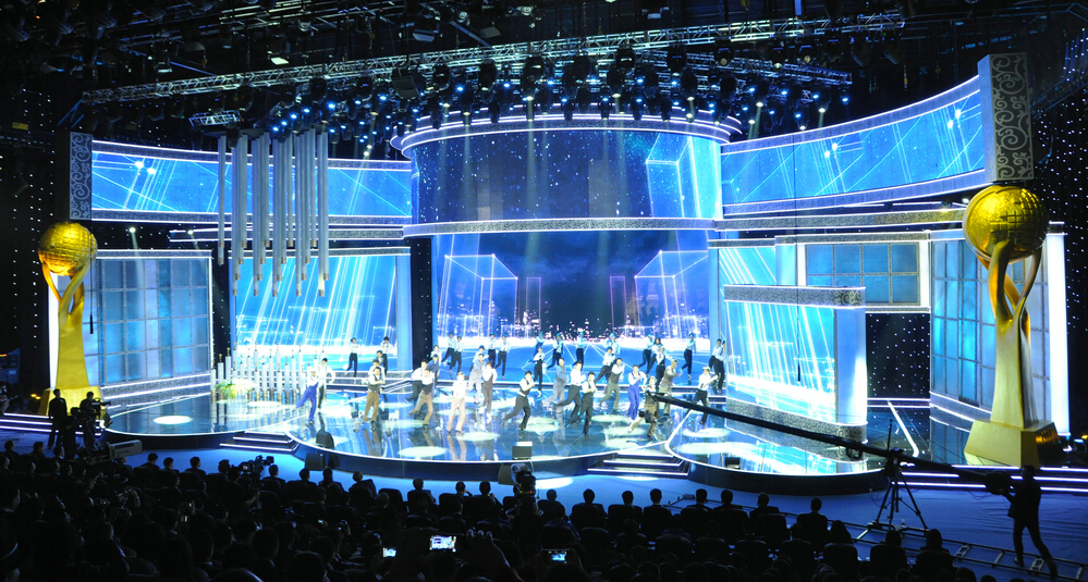 US $215 89 |Promotion price P4 led video wall indoor, stage background led  wall video p4mm pixel 4mm , smd indoor led video wall rental ph4-in LED