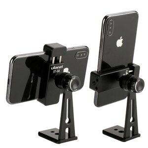 Image 3 - Verstelbare Statief Mount Adapter Verticale 360 Rotatie Telefoon Clipper Houder Stand voor iPhone Samsung Huawei Xiaomi Mobiele Telefoon